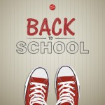Creative concept with Back to school theme - vector illustration